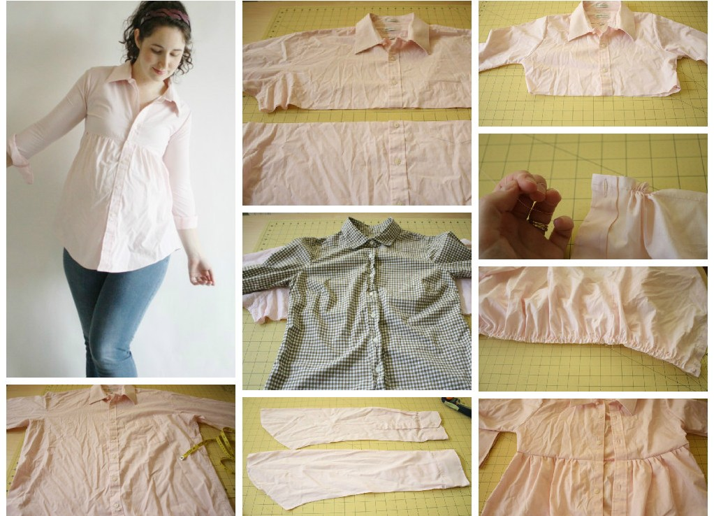 Переделка одежда для беременных своими руками