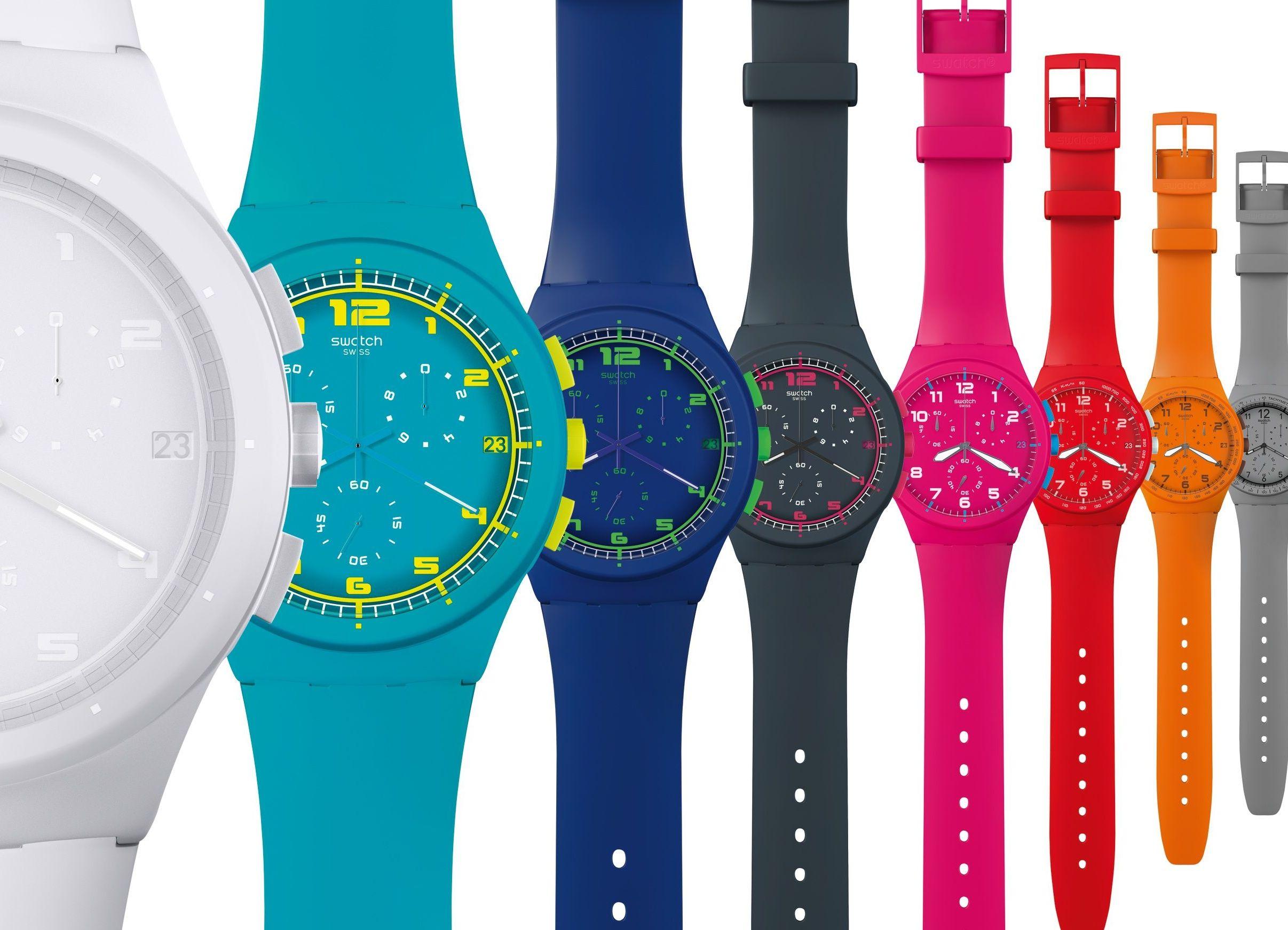 ремешки для часов swatch. Наручные часы в