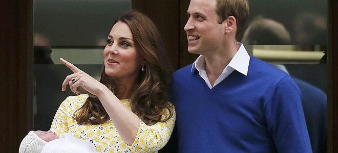 Кейт родила ребенка