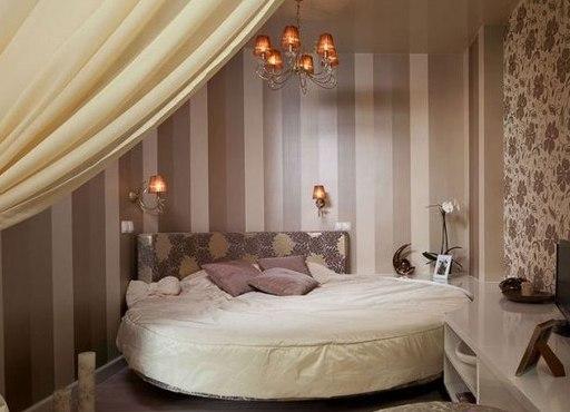 Круглые спальни фото