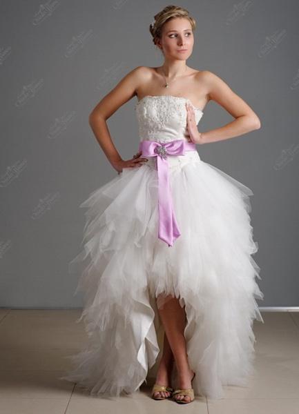Wedding saloon цветные свадебные платья 2015