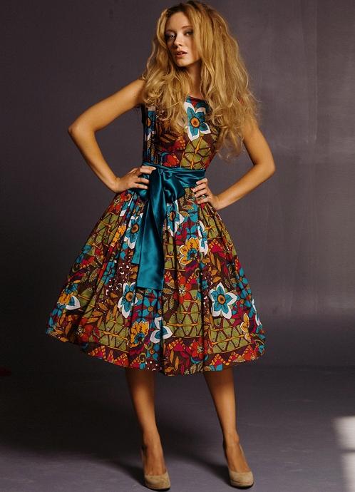 Короткие фасоны летних платьев 2015