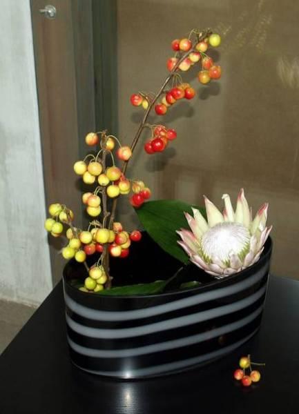 Осенняя икебана своими руками фото 643