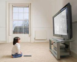 Телевизор и ребенок
