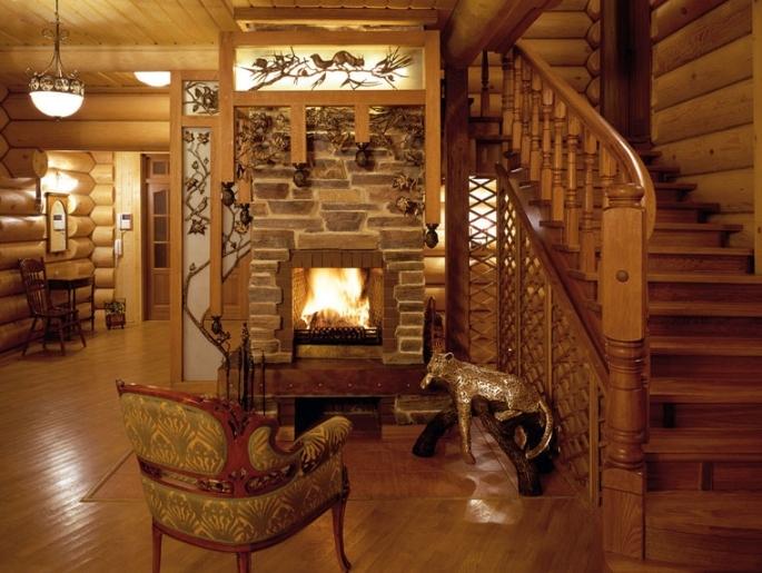 Загородного деревянного дома