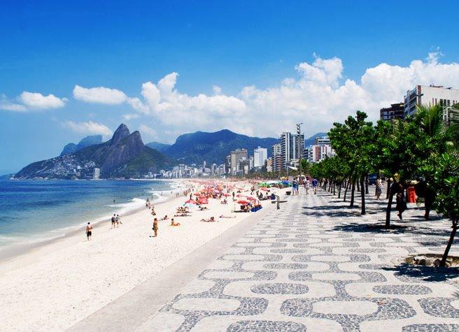 бразилия стала знаменитой: