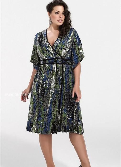 мода для полных невысоких женщин 3