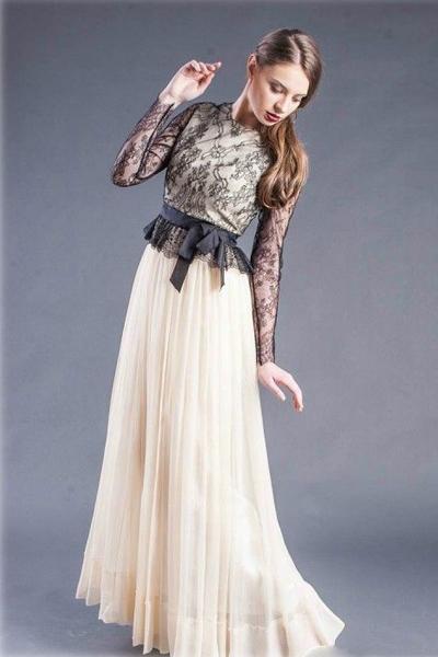 Модные платья: макси осень-зима 2012-2013