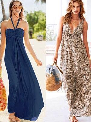 Купить Платье в пол с цветным принтом Vanushina Платья и сарафаны