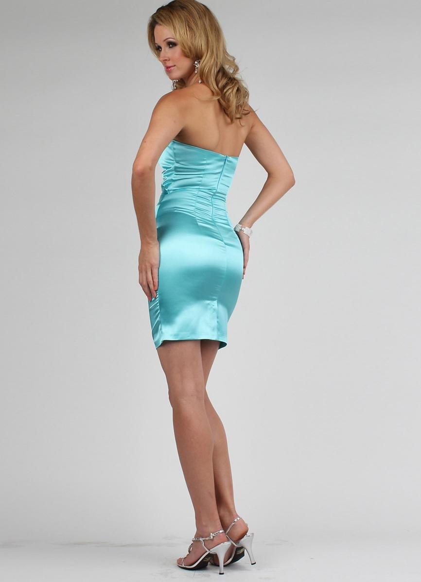 Вечерние платья из шелка 2011