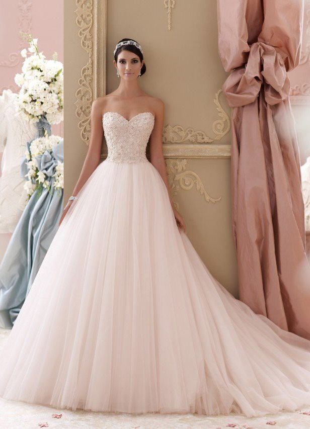 Скачать Пышные свадебные платья 2015