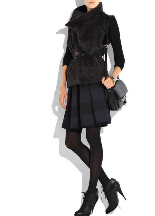 теплые юбки1