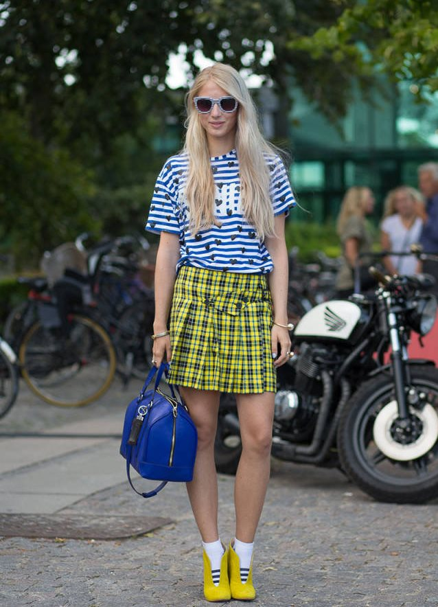 Уличная мода – лето 2015
